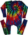 Extreme Rainbow Union Suit