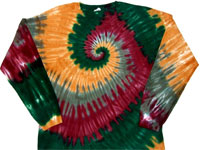 camouflage tie dye shirt