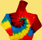 Rainbow Swirl Tie Dye Hoodies