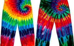 Tie Dye Capri Pants