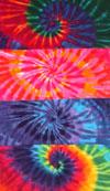 Oversized Tie Dye Towels