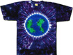 planet purple earth day tie dye shirts