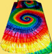 12 color tie dye bedding