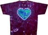 Mother earth tie dye shirt