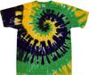 mardi gras spiral tie dye shirts