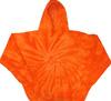 Orange Tie Dye Hoodie