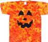 Halloween tie dye tee shirts