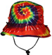tie dye jungle hat