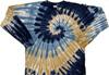 swirl waterfall tie dye t shirt