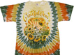 grateful dead sunflower tie dye t-shirt