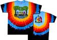 Wood bears grateful dead tie dye t-shirt