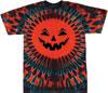 Jack-O-Lantern Tie Dye