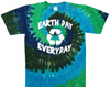 Reuse recyle tie dye shirt