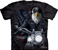 Biker Stryker tie dye shirt