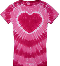 hot pink tie dye shirt