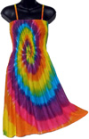 Rainbow Tie Dye Sarong Dress