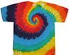 tie rainbow pocket dye tee