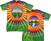 tie grateful dead waterfall t-shirt