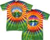 grateful dead waterfall tie dye shirt