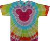 Pastel ears tie dye t shirt