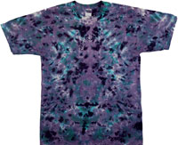 Kaleidescope Tie Dye T Shirt