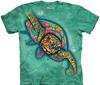 Russo turtle tie dye shirt