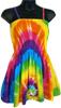 Baby Doll Rainbow Tie Dye Top Skirt