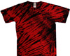 Red and black tiger stripe