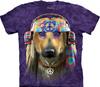 Groovy Dog tie dye shirt
