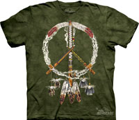 peace pipes tie dye clothes